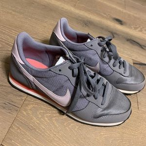 Nike shoes, grey/pink, women's size 7